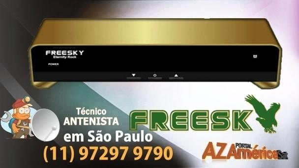 Freesky Eternity Rock Nova Atualização