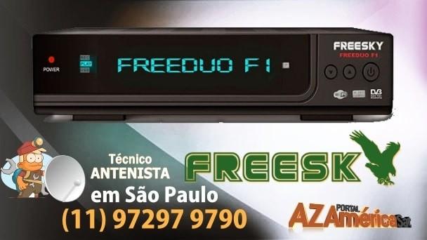 Atualização Freesky f1 HD