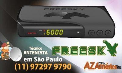 Atualização Freesky Max HD Mini