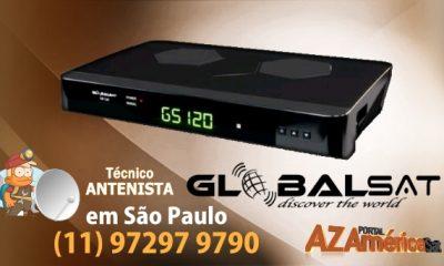 Globalsat GS120 Plus Nova Atualização