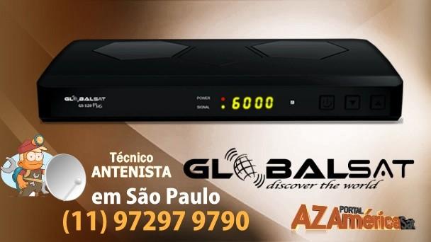 Globalsat GS120 Nova Atualização