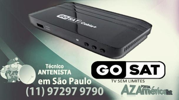 Gosat Cable+ Plus Nova Atualização Via USB v1.27