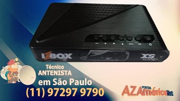 Atualização IZBOX XS Max HD