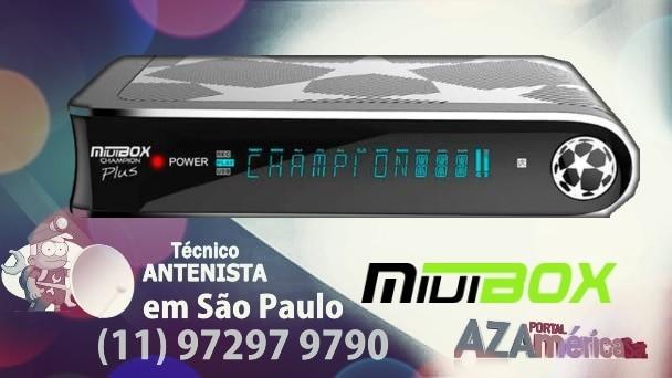 MIUIBOX CHAMPION PLUS ATUALIZAÇÃO VIA USB V135