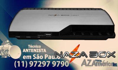 NAZABOX CABLE HD ATUALIZAÇÃO