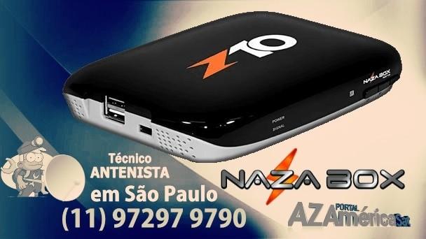 Atualização Nazabox N10 HD V.