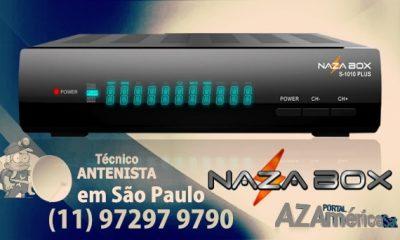 Atualização Nazabox S-1010 Plus