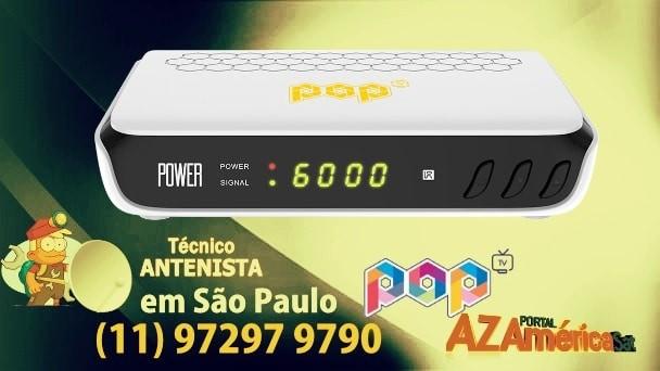 Atualização Pop TV Power HD