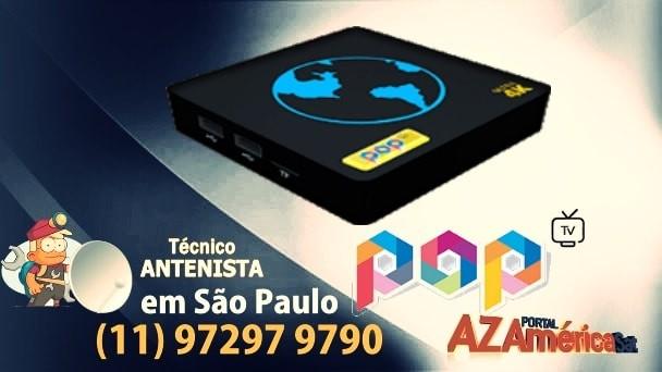 Atualização Pop TV Ultra 4K