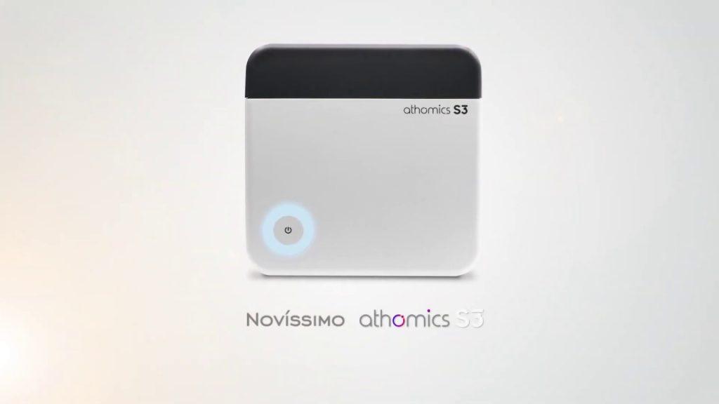 atualização athomics s3