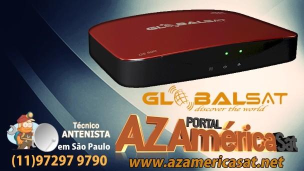 atualização globalsat gs600