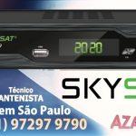 Atualização Skysat S2020 HD