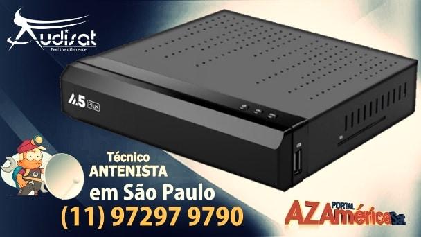 atualização Audisat A5/A5 Plus