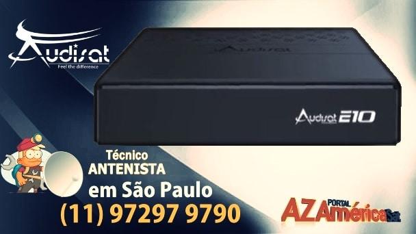 Atualização Audisat E10