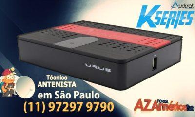 Audisat K10 Urus Nova Atualização