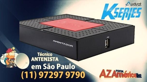 Audisat K30 Aventador Nova Atualização