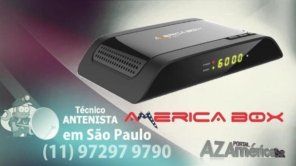 Americabox S105 + Plus Nova Atualização V2.35