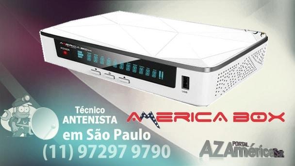 Americabox S205 + Plus Nova Atualização