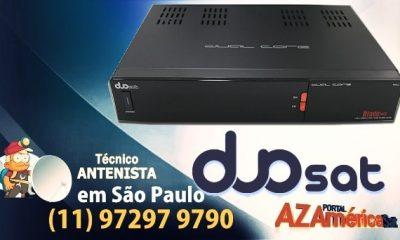 Duosat Blade HD Dual Core Nova Atualização