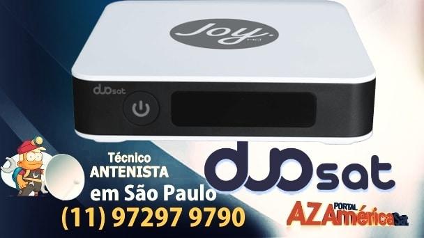 Duosat Joy HD Primeira Atualização Disponível