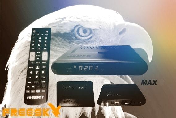 Atualização Freesky Max S HD