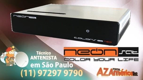Neonsat Colors HD Nova Atualização