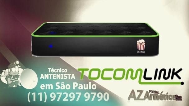 Atualização Tocomlink Pipoca HD