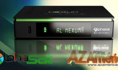 Alphasat Nexum Nova Atualização