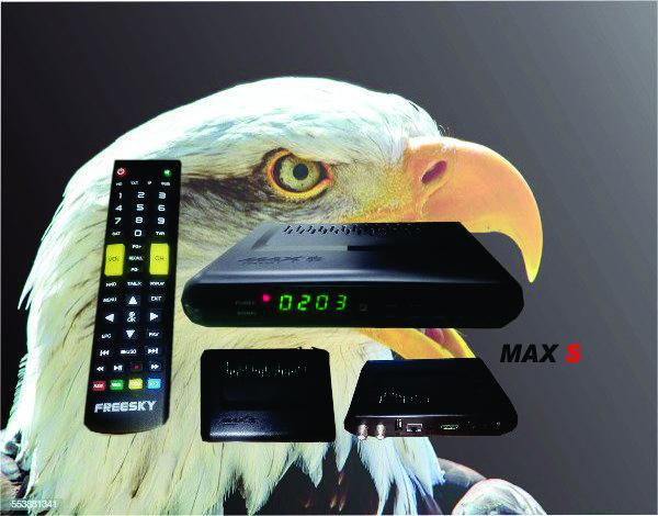 Freesky Max S Nova Atualização