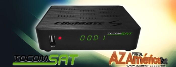 Tocomsat Combate HD S Nova Atualização