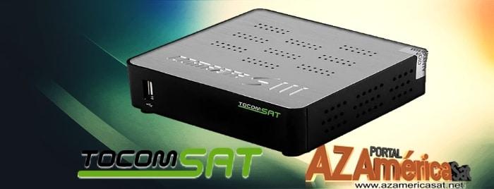 Tocomsat Combate HD S3 Nova Atualização