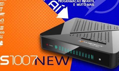Azamerica S1007 New Primeira Atualização V1.09.20761