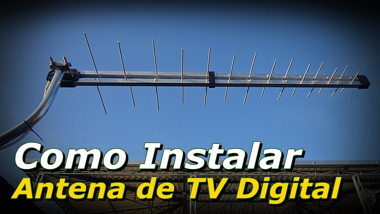 como instalar antena digital externa