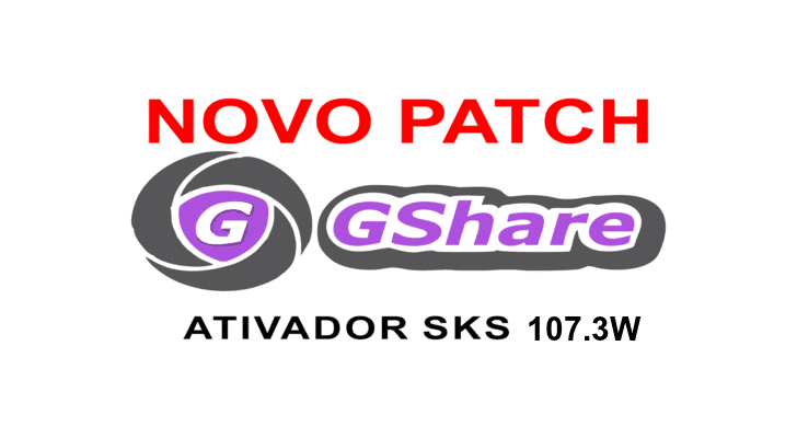ativador patch gshare 107w