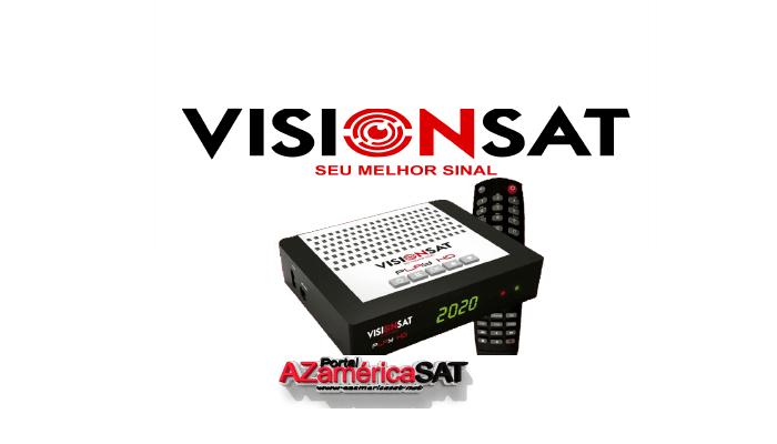 ATUALIZAÇÃO VISIONSAT PLAY HD - AZAMERICA SAT