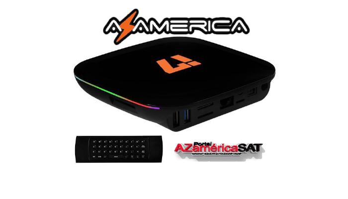NOVA ATUALIZAÇÃO AZAMERICA I7 - AZAMERICA SAT