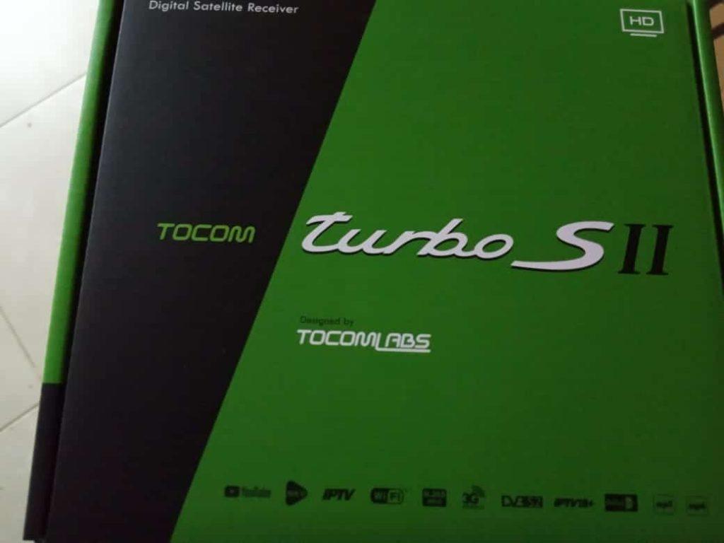 atualização tocomsat turbo s II