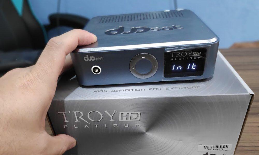 Duosat Troy HD Platinun - azamerica sat