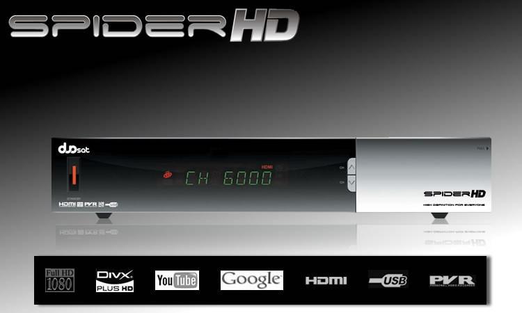 atualização Duosat Spider HD