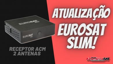Atualização Receptor Eurosat Slim