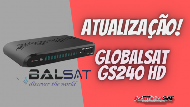 Nova Atualização Globalsat GS240