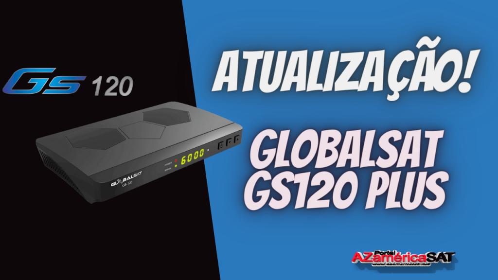 Nova Atualização globalsat gs120 plus novo tema