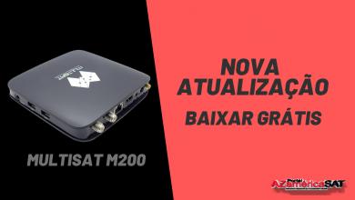 nova atualização Multisat M200