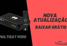 Nova Atualização Multisat M300