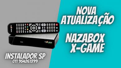 Nova Atualização NAZABOX X-GAME - confira