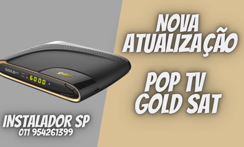 Nova Atualização POP TV Gold SAT - confira