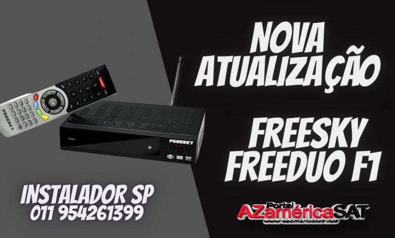 Nova Atualização freesky freeduo f1 confira