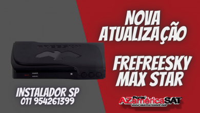 Nova Atualização freesky Max Star