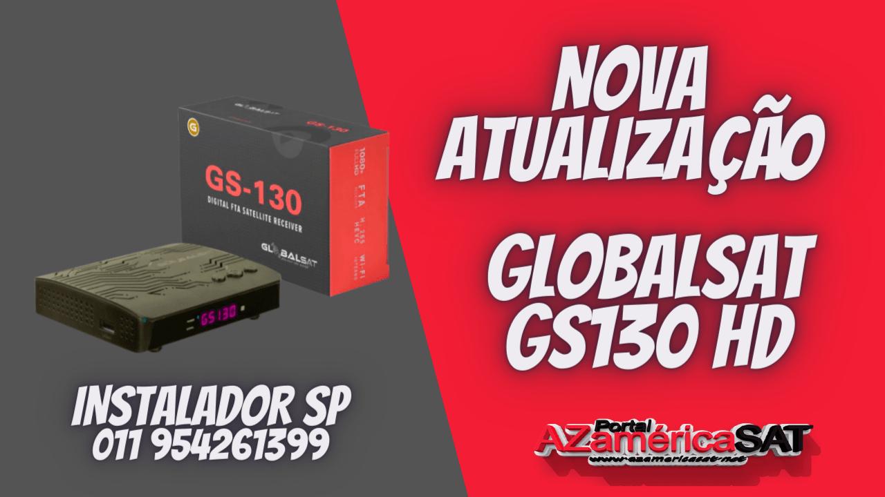 Nova Atualização globalsat gs130 hd - conferi