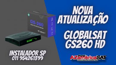 Nova Atualização globalsat gs260 - - confira